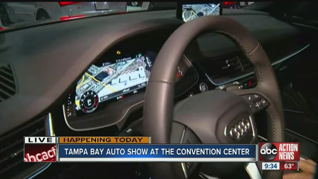 Model Tampa Bay International Auto Show Rolls Into Tampa For - Tampa convention center car show