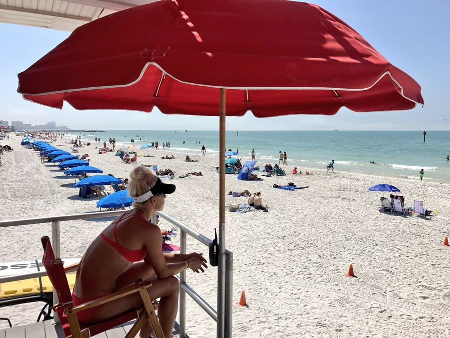 Beach Cams North Clearwater Beach