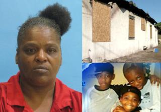 Police: Woman sets house on fire, kills 3 kids