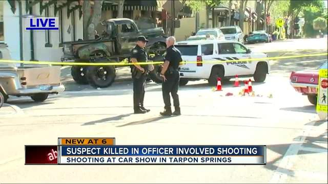 Officerinvolved Shooting In Tarpon Springs Leaves Palm Harbor Man - Palm springs car show