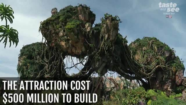 Quick facts about Disney-s Pandora- The World of Avatar