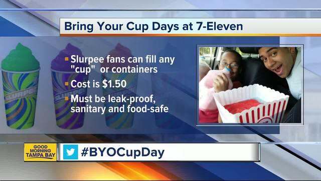 how to make the most of 7 eleven s slurpee bring your own cup day