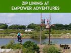 Empower Adventures: Zip line fun in Tampa Bay