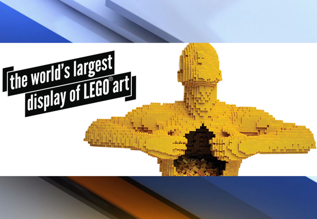 World's largest LEGO art display to debut in Downtown Tampa ...