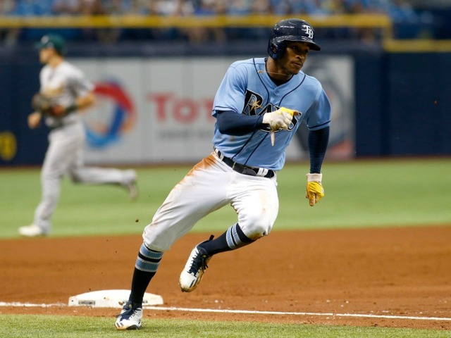 mallex smith has 3 hits tampa bay rays beat oakland athletics 5 4