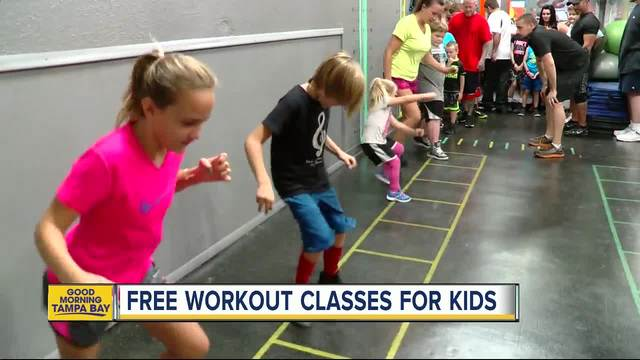 Pasco County Gym Offers FREE Workouts For Kids To Curb Childhood Obesity