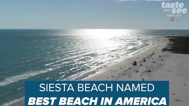 Florida-s Siesta Beach named best beach in US