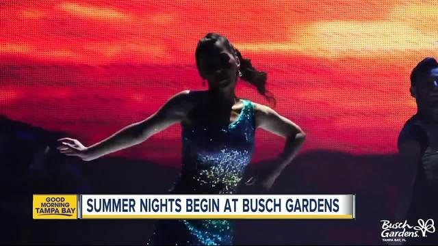 Busch Gardens Tampa Bay Kicks Off 39 Summer Nights 39 With Party Zones Later Hours And More