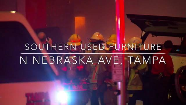 Tampa Fire Rescue Responded To A Fire A Furniture Store In The Sulphur  Springs Neighborhood On Sunday Night. Around 10:35 P.m., Crews Arrived At  Southern ...