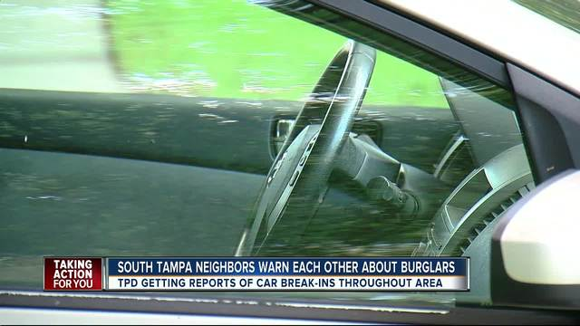 South Tampa Homeowners Warn Neighbors With Suspicious Surveillance