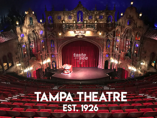 The iconic Tampa Theatre keeps making history
