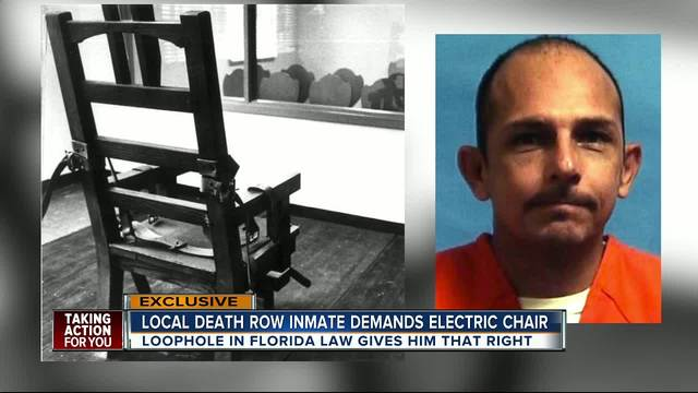 Death row inmate requests electric chair Florida law may make it possible  sc 1 st  ABC Action News & Death row inmate requests electric chair Florida law may make it ...