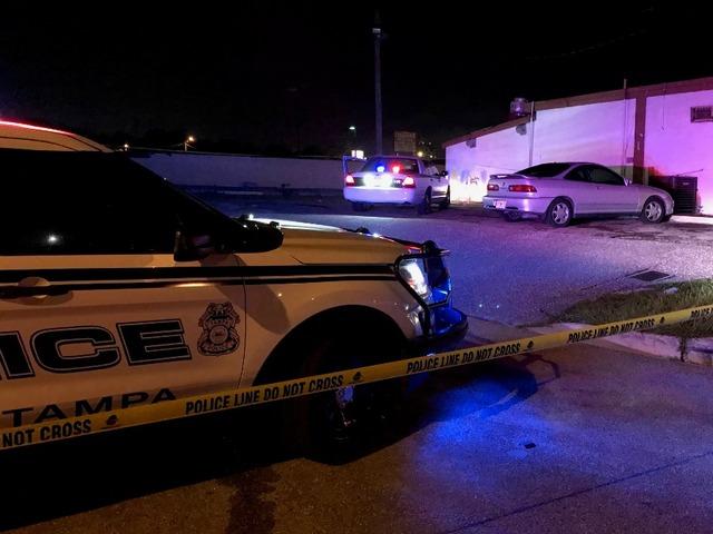 Two Teenagers Shot Across The Street From Busch Gardens Wfts Tv