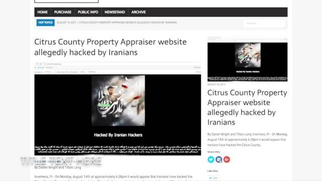 Manatee County Property Appraiser Hacked