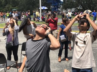 PHOTOS: Solar Eclipse 2017 in Tampa Bay