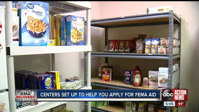 Local food pantries providing temporary relief in Tampa
