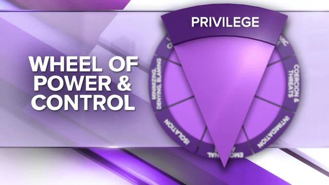 Wheel of Power and Control- Minimizing Concern and Blame