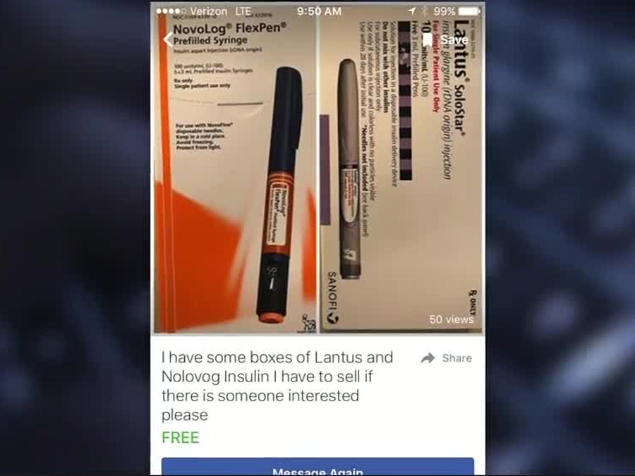 Diabetics sell insulin and test strips on black market for extra ...