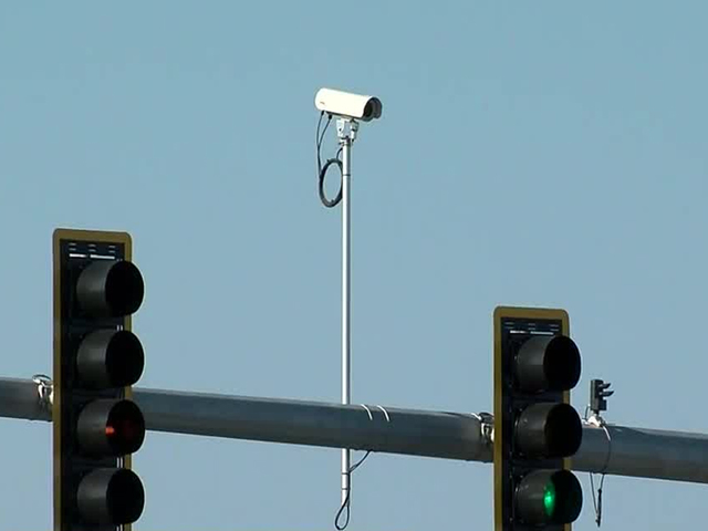 This Is A Traffic Monitoring Camera.