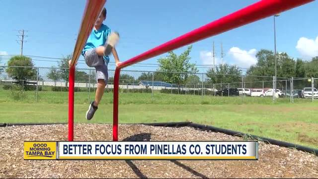 Wellness program at Pinellas County schools has kids showing better grades,  concentration