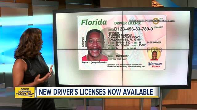 Florida 39 S New Driver Licenses Rolling Out At 12 Bay Area