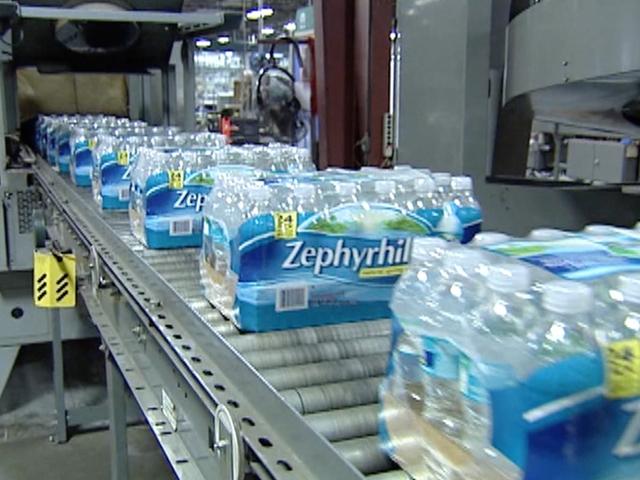 Zephyrhills Brand Water Not Processing New Orders Because Of Hurricane Irma