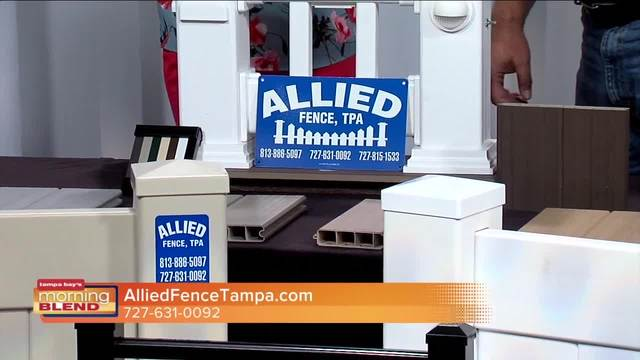 Allied Fence can help repair any fence damage from Hurricane Irma