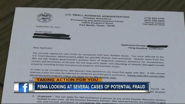 Fema Looking Into Several Fraud Cases  AbcactionnewsCom WftsTv
