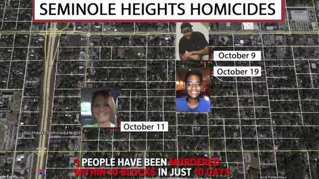 Seminole Heights Homicides- Tampa police are searching for the killer…