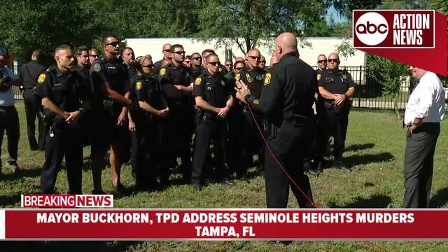 Mayor Buckhorn and TPD are updating the status of the investigation into…
