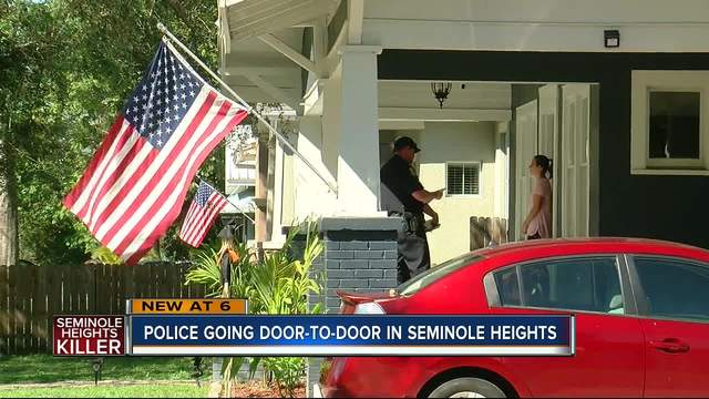 Police going door-to-door in Seminole Heights