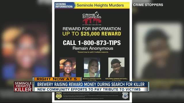 Local brewery raising money for reward that leads to arrest of Seminole…