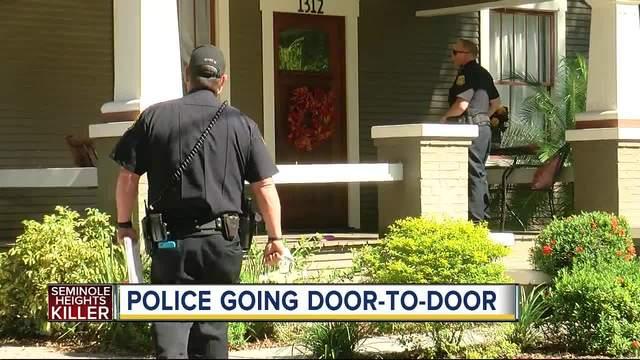 Seminole Heights Killer- Police going door-to-door after three homicides…