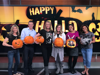PHOTOS: Pumpkin carving fun with ABC Action News