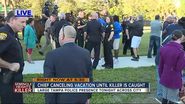 Interim Police Chief cancels officers- scheduled vacation until Seminole…