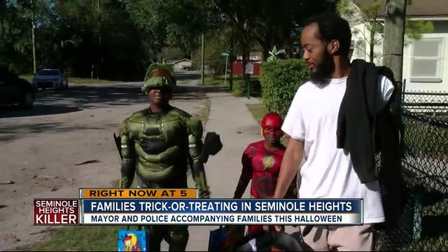 Mayor- Police Chief plan to trick-or-treat in Seminole Heights on Halloween