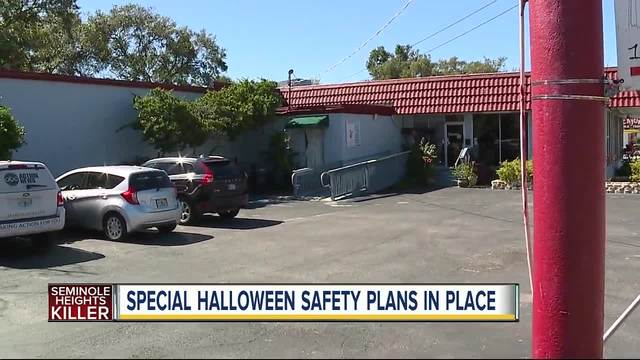 Trick or Treating Safety in Seminole Heights