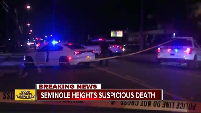 Tampa Police confirm suspicious death in Seminole Heights blocks away…