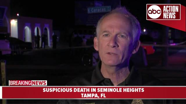 Seminole Heights suspicious death under investigation - Tampa police…