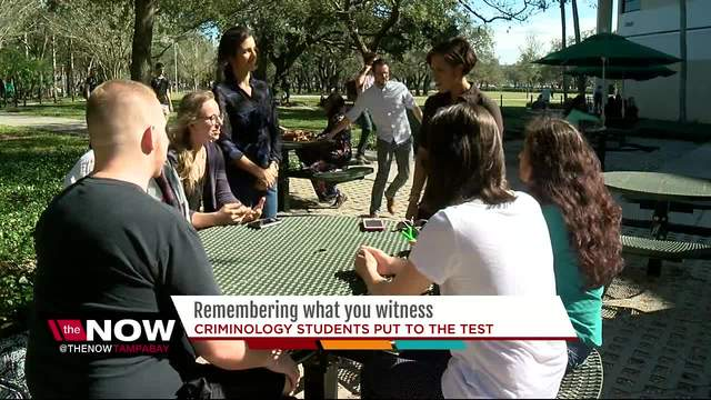Ex-FBI agent experiment- Would you be a good witness if you saw a crime-