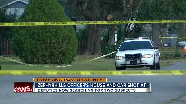 Shots Fired At Zephyrhills Police Officers Home And Cruiser - Zephyrhills car show