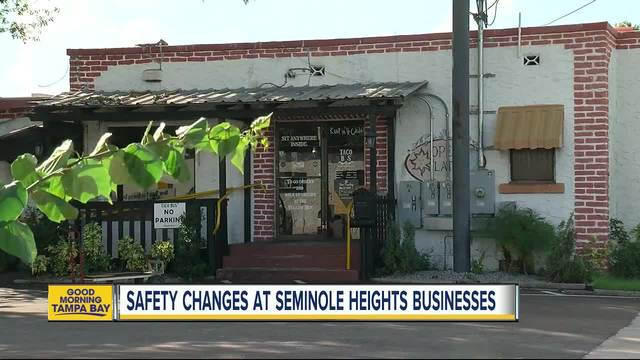Businesses making changes in light of 4th murder in southeast Seminole Heights