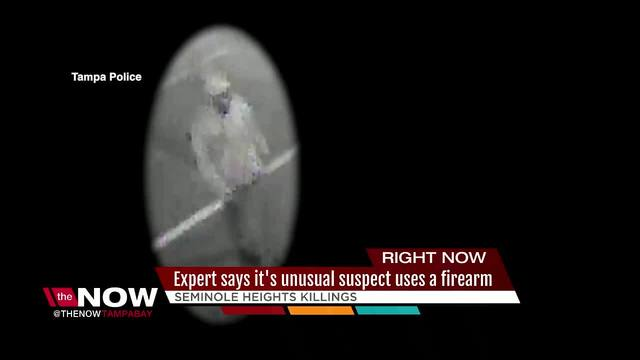 Seminole Heights suspect caught on video