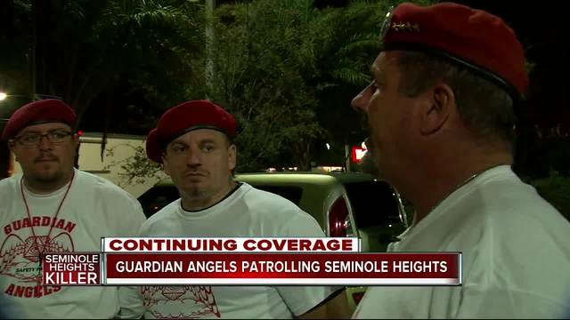 Guardian Angels patrolling Seminole Heights after fourth homicide
