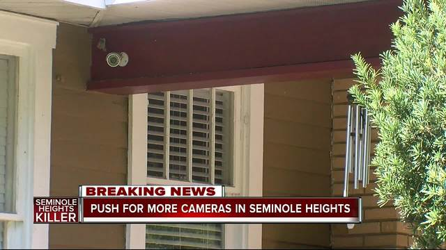 New push for more cameras in Southeast Seminole Heights following fourth murder