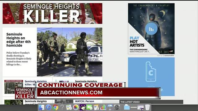 Seminole Heights Killer- Continuing coverage online and in our app