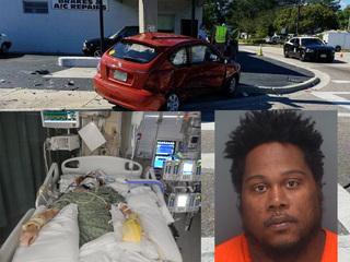 Hit & run driver posts bond, victim in hospital