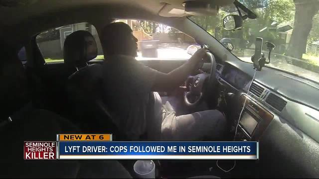 Southeast Seminole Heights Lyft driver says he will continue driving at…