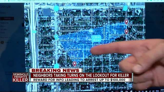 Seminole Heights resident proposes -Bunker Lookout Strategy- to capture killer