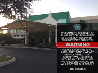Tampa church's pro-gun sign goes viral